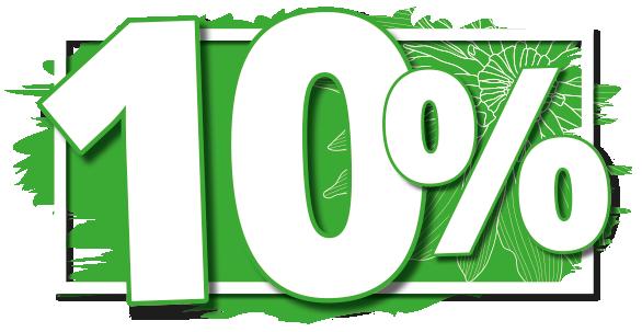 10 Prozent Rabatt auf Gartenmöbel